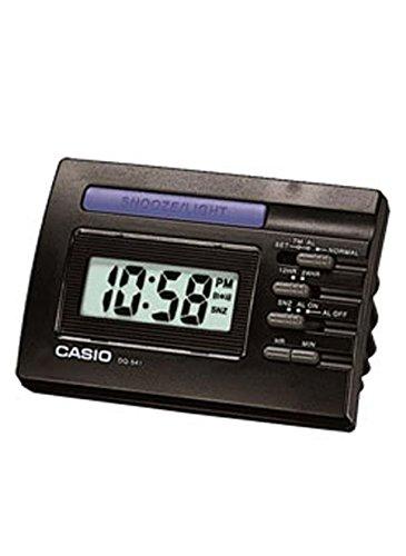 Casio Despertador Digital, Negro, 91x58X64 mm
