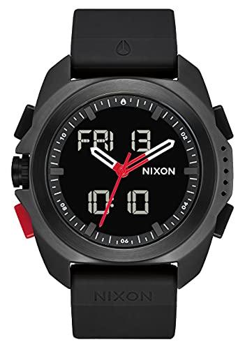 Nixon Reloj Analógico-Digital para Hombre de con Correa en Silicona A1267008-00