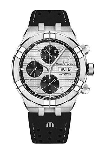 Reloj Automático Maurice Lacroix Aikon Chronograph, AI6038-SS001-132-1
