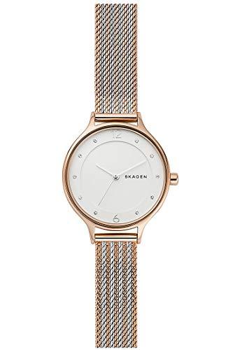 Skagen Reloj Analógico para Mujer de Cuarzo con Correa en Acero Inoxidable SKW2749