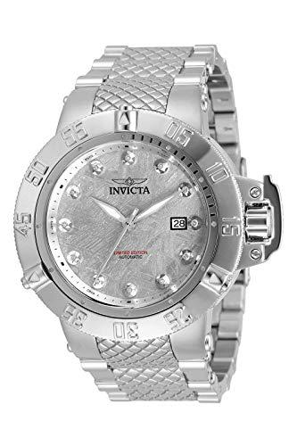Invicta Subaqua - Noma III 33608 Reloj para Hombre Automático - 50mm - con 12 Diamantes