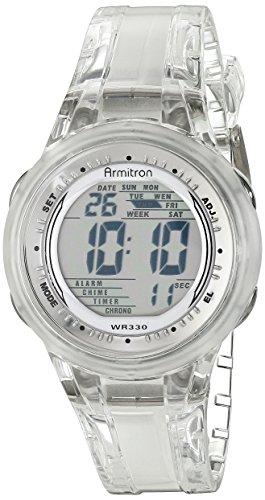 Armitron Sport Reloj Digital para Mujer de Cuarzo con Correa en Resina 45/7051CLR