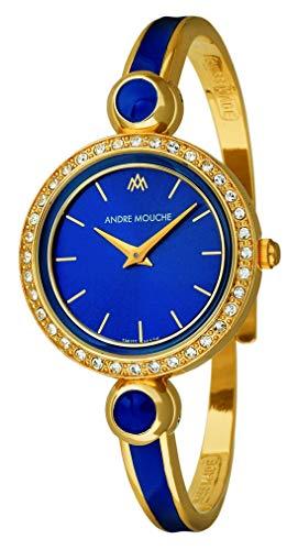 Andre Mouche Aria-Crystal 452-06061 - Reloj de Pulsera para Mujer