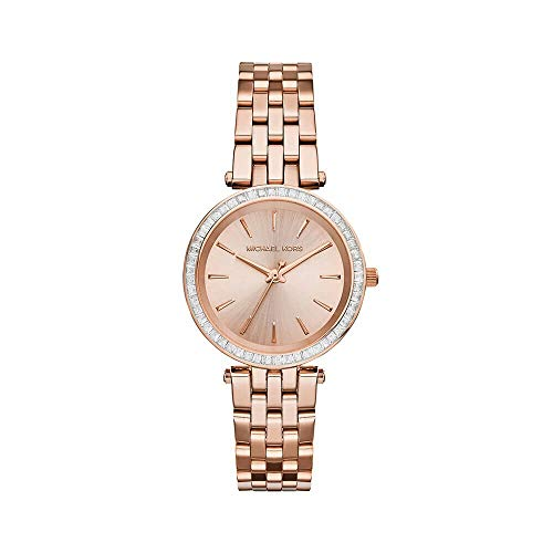 Michael Kors Women's Darci MK3366 Rose Gold Stainless-Steel Quartz Fashion Watch