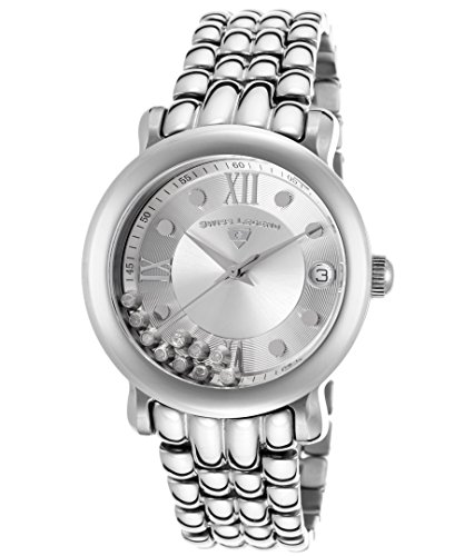 Swiss Legend Diamanti Diamonds Silver-Tone Steel and Dial Women's Quartz Watch 22388-22S