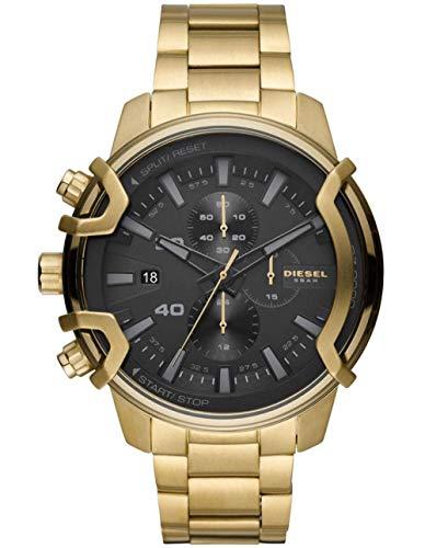 Diesel Reloj Analógico para Hombre de Cuarzo con Correa en Acero Inoxidable DZ4522