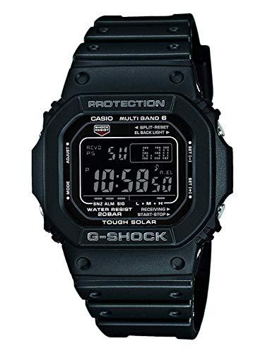 Casio G-SHOCK Reloj Digital, Reloj radiocontrolado y solar, 20 BAR, Negro, para Hombre, GW-M5610-1BER