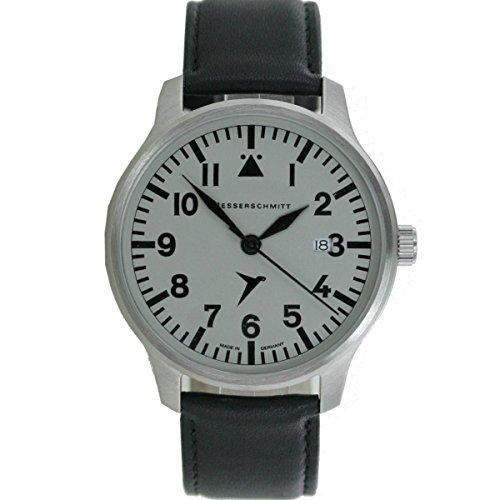 Aristo Messerschmitt ME-42S - Reloj de aviador para hombre (piel)