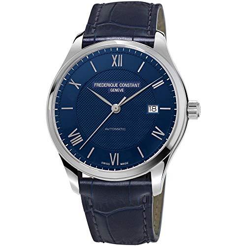 Reloj frederique constant Classics chono q AC Reloj para Hombre Analógico de Cuarzo con Brazalete de Piel de Vaca FC-292MN5B6
