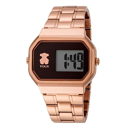 Reloj TOUS D-Bear Digital de acero IP rosado Ref:600350305