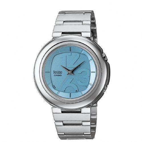 Casio Mujer Radio Reloj de pulsera Felite lwq de 300de de 2eer