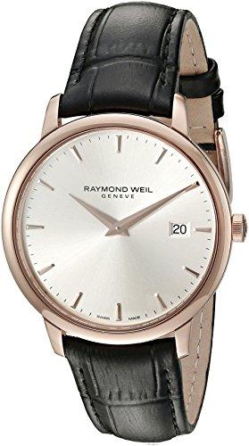 Raymond Weil Reloj Analógico para Hombre de Cuarzo con Correa en Cuero 5488-PC5-65001