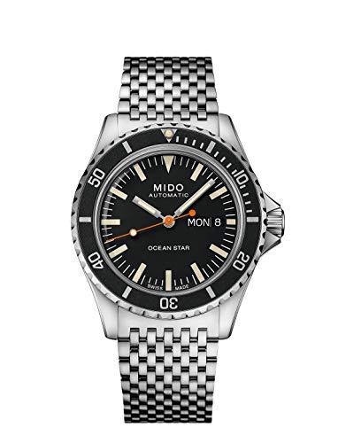 Mido Captain M0268301105100 Reloj Automático para Hombres con Pulsera Adicional
