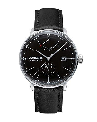Junkers Reloj Analógico Automático para Hombre con Correa de Cuero – 60602