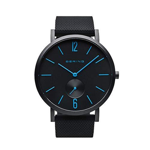 BERING Reloj Analógico True Aurora Collection para Unisex de Cuarzo con Correa en Silicona y Cristal de Zafiro 16940-499