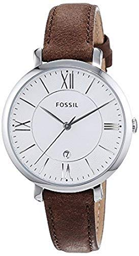 Fossil Reloj analogico para Mujer de Cuarzo con Correa en Piel ES3708