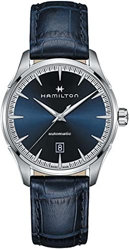 Hamilton Jazzmaster H32475640 reloj automático de hombre con esfera azul