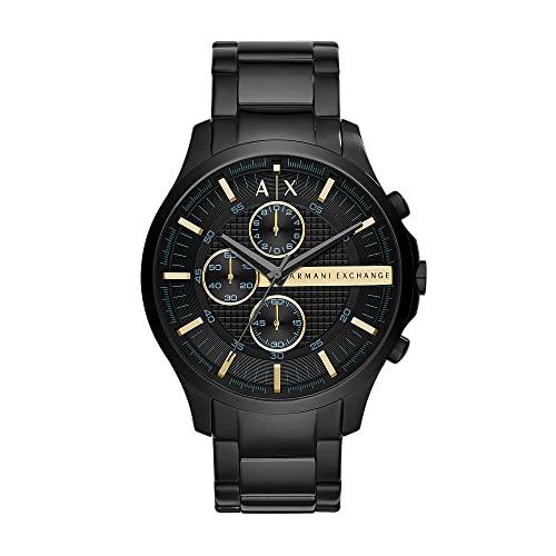 Armani Exchange Reloj Cronógrafo para Hombre de Cuarzo con Correa en Tela AX2164