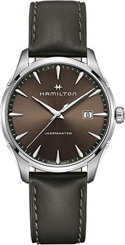 Reloj para Hombre HAMILTON JAZZMASTER Gent Quartz en Acero y Cuero H32451801