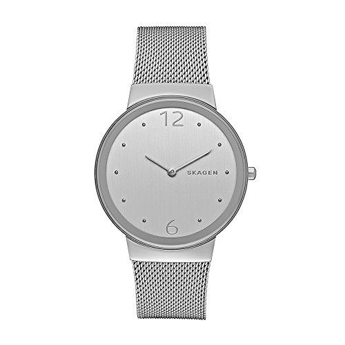 Skagen Reloj Analógico para Mujer de Cuarzo con Correa en Acero Inoxidable SKW2380