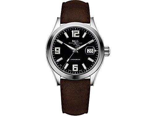 Reloj Ball Engineer II Pioneer, Ball RR1103, Negro, Correa de piel, 40mm. COSC