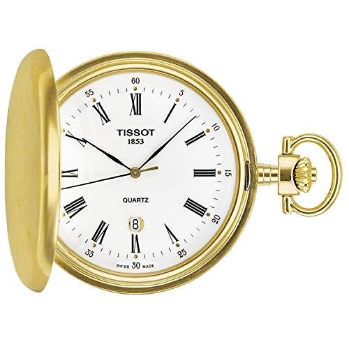 Montre Tissot T-Pocket Savonnette Quartz dorée