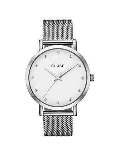 CLUSE Reloj Analógico para Mujer de Cuarzo con Correa en Acero Inoxidable CW0101202001