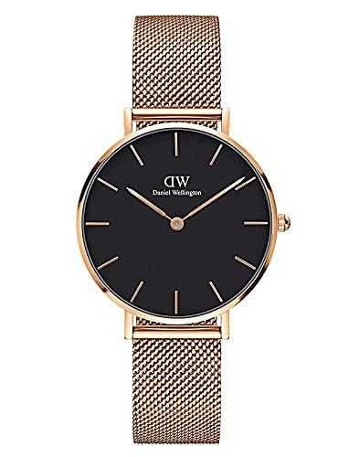 Daniel Wellington Petite Melrose, Reloj Oro Rosado, 32mm, Metálico, para Mujer