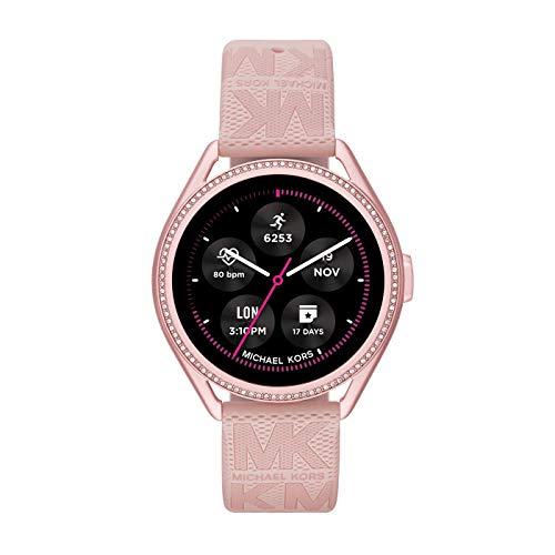 Michael Kors Connected Smartwatch Gen 5E MKGO para Mujer con tecnología Wear OS de Google, frecuencia cardíaca, GPS, NFC y notificaciones smartwatch