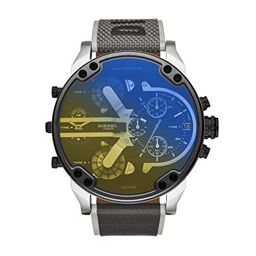Diesel Reloj Analogico para Hombre de Cuarzo con Correa en Nailon DZ7429