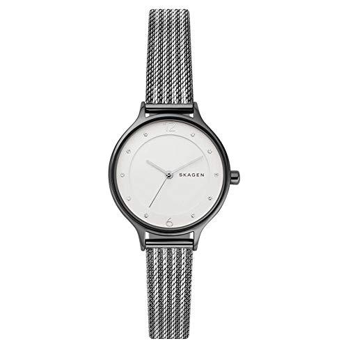 Skagen Reloj Analógico para Mujer de Cuarzo con Correa en Acero Inoxidable SKW2750