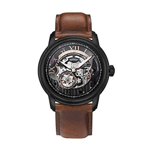 Aries Gold El Toro G 9005 BK-BK - Reloj de Pulsera para Hombre (analógico, automático)