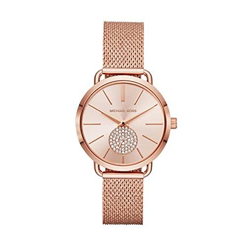 Michael Kors Reloj Analogico para Mujer de Cuarzo con Correa en Acero Inoxidable MK3845