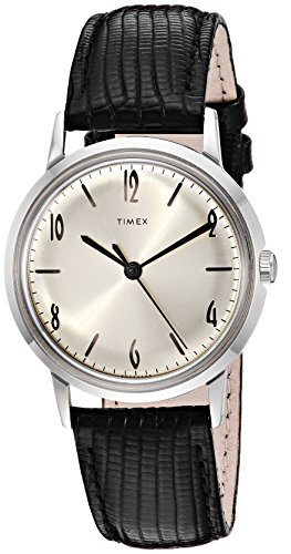 Timex Unisex Marlin Stainless Steel Hand-Wound Movement