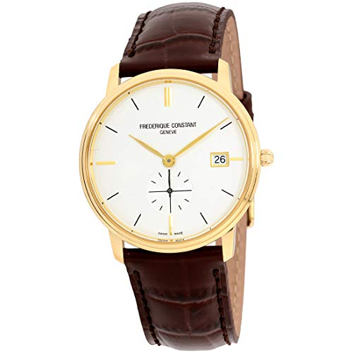 Frederique Constant Geneve Slimline Ladies and Gents Small Second FC-245V4S5 Reloj Unisex