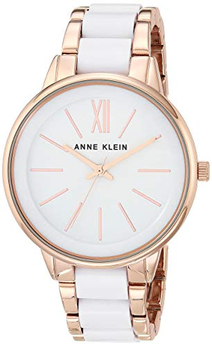 ANNE KLEIN Reloj analógico para Mujeres de Cuarzo japonés con Correa en Aleación AK/1412WTRG