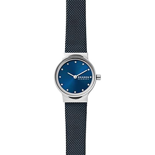 Reloj Freja para mujer, de Skagen, con al menos un 50% de acero inoxidable reciclado y con dos agujas, SKW3008