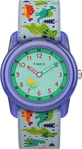Timex Reloj Análogo clásico para Unisex Niños de Cuarzo con Correa en Tela TW7C77300