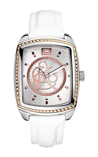 Marc Ecko Reloj Análogo clásico para Hombre de Cuarzo con Correa en Cuero E95041G1