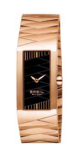 Breil Milano BW0349 - Reloj de Mujer de Cuarzo, Correa de Acero Inoxidable Color Oro