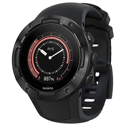Suunto 5 Reloj Deportivo GPS Ligero y Compacto, Seguimiento 24/7 de Actividad física, Medición del Ritmo cardiaco en la muñeca, Unisex-Adulto, Negro, Talla Única