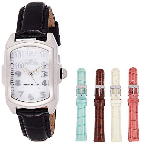 Invicta 5168 Lupah Reloj para Mujer acero inoxidable Cuarzo Esfera blanco