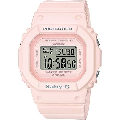 Casio Reloj Digital para Mujer de Cuarzo con Correa en Resina BGD-560-4ER