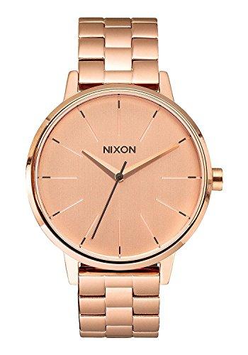 Nixon Reloj Analógico para Mujer de Cuarzo con Correa en Acero Inoxidable A099-897-00