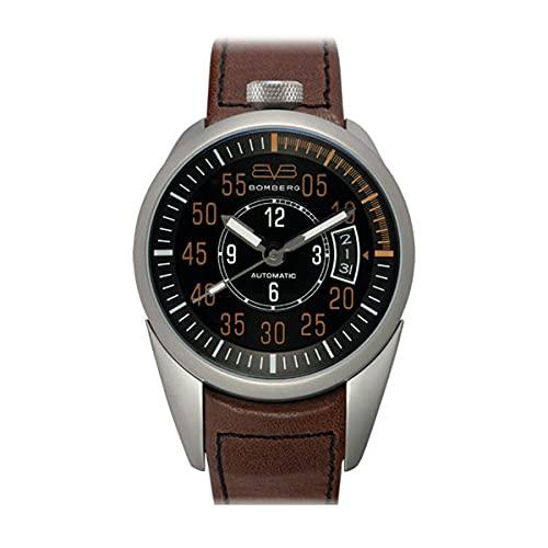 Bomberg 1968 - Reloj para hombre, acero, color marrón