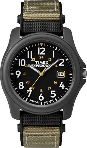 Timex Reloj Analógico para Hombre de Cuarzo con Correa en Tela Expedition T42571