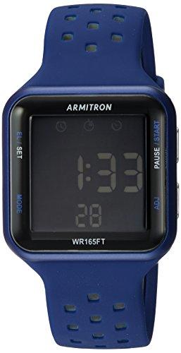 Armitron Sport Reloj Digital para Unisex Adulto de Cuarzo con Correa en Silicona 40/8417BLU