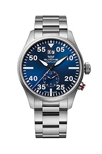 Glycine Airpilot Dual Time GL0362 Reloj para Hombre Cuarzo - 44mm