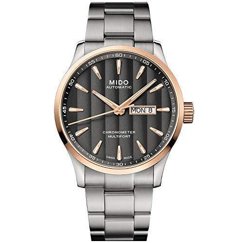 Mido Multifort Chronometer 1 Reloj de Hombre automático M038.431.21.061.00...
