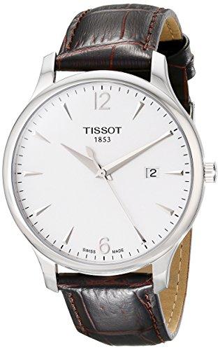 Tissot Reloj Analógico para Hombre de Cuarzo con Correa en Cuero T0636101603700